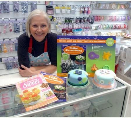 Karen Burton of Karen's Cakes