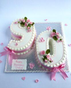 Number Ninety Cake