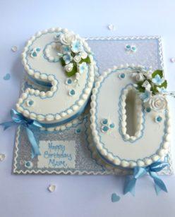 Number 90 cake