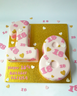 Double Number Cake