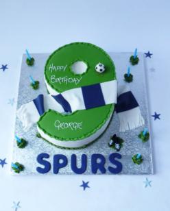 Number 9 cake
