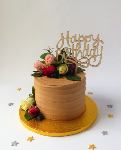 Choclate buttercream celebration cake