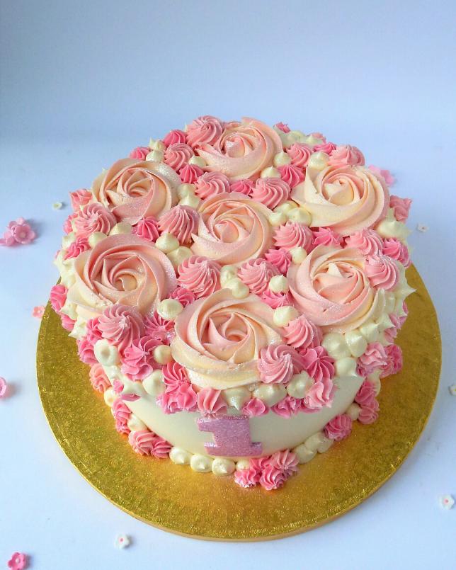 Tremendous Baby Smash 1St Birthday Cake Karens Cakes Personalised Birthday Cards Sponlily Jamesorg