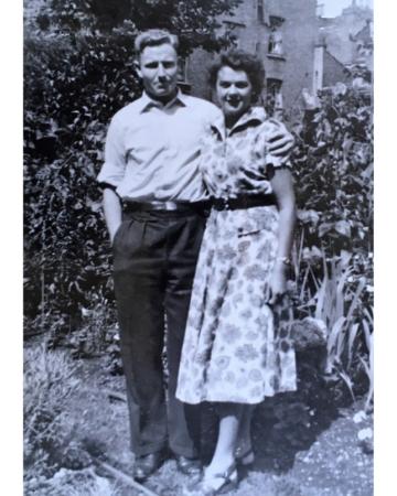 1950's photo couple
