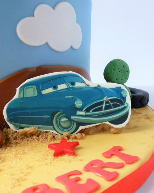 Car made from icing