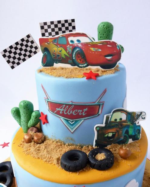 Cars Cake topper