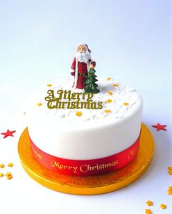 Traditional Christmas cake