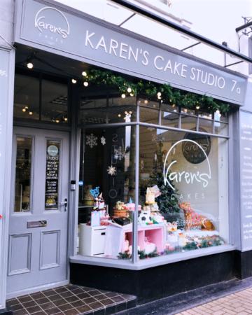 Specialist cake shop