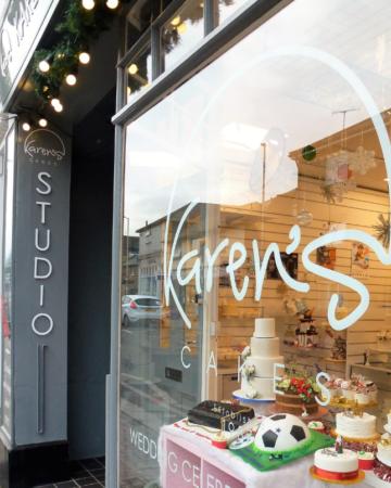 Cake studio entrance