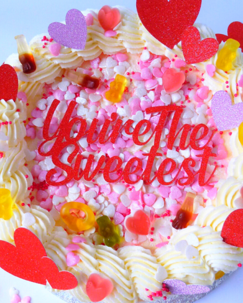 You're the sweetest cake topper
