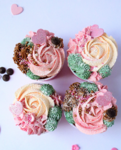 Pretty cupcakes for mothers day