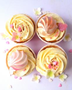 Cupcake rose gold